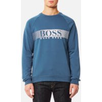 BOSS Hugo Boss Mens Long Sleeve Sweatshirt - Blue - XXL - Blue