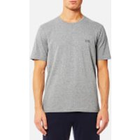 BOSS Hugo Boss Mens Short Sleeve T-Shirt - Medium Grey - S - Grey