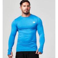Myprotein Mens Seamless Long Sleeve T-Shirt - Royal Blue, XXL