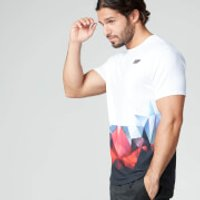 Myprotein Mens Digital Geo Print T-Shirt - Black, M