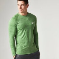 Myprotein Mens Performance Long Sleeve Top, Grey Marl, S