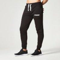 Slim Fit Sweatpants - XS - Black