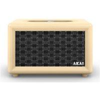 Akai Retro Bluetooth Speaker (2 x 20W) - Cream