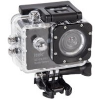 iTek 1080p Full HD Waterproof Action Camera (2 Inch Display) - Black