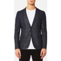 HUGO Mens Anfred Blazer - Navy - EU 42 - Blue
