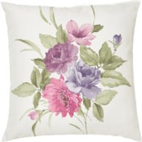 Bouquet Cushion - Pink (45 X 45cm)