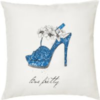 Live Pretty Cushion - White (45 x 45cm)