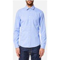 BOSS Orange Men's Epop Sueded Oxford Shirt - Open Blue - XXL - Blue