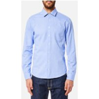 BOSS Orange Men's Epop Sueded Oxford Shirt - Open Blue - XXL - Blue