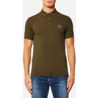 BOSS Orange Mens Pavlik Polo Shirt - Dark Green - L - Green