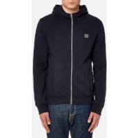 BOSS Orange Mens Ztadium UK Hooded Sweatshirt - Navy - S - Navy