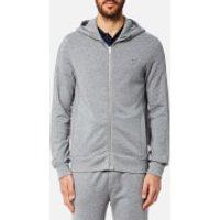 BOSS Orange Mens Ztadium UK Hooded Sweatshirt - Grey - M - Grey