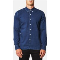 Levis Mens Pacific No Pocket Shirt - Indigo Black Stone - XXL - Blue