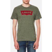 Levi's Men's Housemark Graphic T-Shirt - Olive Night Tri Blend - L - Green