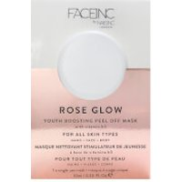 FACEINC by nails inc. Rose Glow Peel Off Pod Mask 10ml