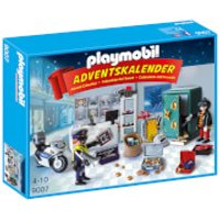 Playmobil Jewel Thief Police Operation Advent Calendar with Working Safe and Money Box Function (9007) - Working Gifts