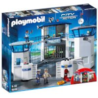 Playmobil City Action Police Headquarters with Prison (6919) - Police Gifts