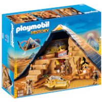 Playmobil History Egyptian Pharaoh's Pyramid with Many Hidden Tombs and Traps (5386)