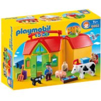 Playmobil 1.2.3 Take Along Farm with Sorting Function (6962)