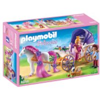 Playmobil Royal Couple with Carriage with Horse Mane to Comb (6856) - Toys Gifts