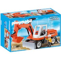 Playmobil City Action Construction Rubble Excavator with Function Shovel (6860) - Construction Gifts