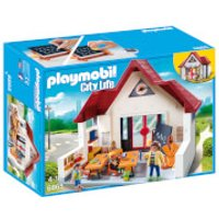 Playmobil City Life Schoolhouse with Moveable Clock Hands (6865) - Toys Gifts