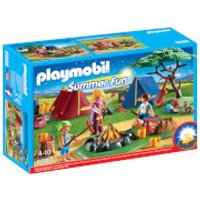 Playmobil Summer Fun Camp Site with LED Fire (6888) - Toys Gifts