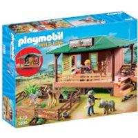 Playmobil Wildlife Ranger Station with Animal Area (6936)