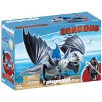 Playmobil How to Train Your Dragon: Drago with Shield Dragon (9248) - How To Train Your Dragon Gifts