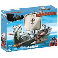 Playmobil How to Train Your Dragon: Ship with Drago (9244) - How To Train Your Dragon Gifts