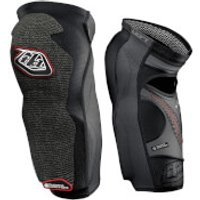 Troy Lee Designs 5450 Long Knee Guards - XS - Black