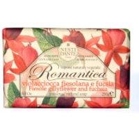 Jabón de alhelí y fucsia Romantica de Nesti Dante 250 g