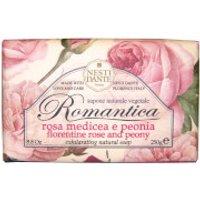 Jabón de rosa y peonía Romantica de Nesti Dante 250 g