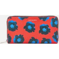 ps-by-paul-smith-women-sea-aster-large-zip-round-purse-red-multi