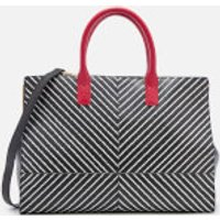 lulu-guinness-women-diagonal-stripes-daphne-tote-bag-black-chalk