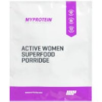 Active Women Superfood Porridge (Sample) - 40g - Sachet - Golden Syrup