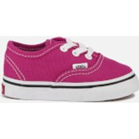 Vans Toddlers Authentic Trainers - Very Berry/True White - UK 3 Toddler - Pink