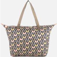 Orla Kiely Womens Zip Shopper Bag - Printed Daisy