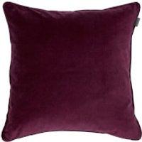 GANT Home Velvet Cushion - Purple Fig