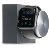 native union dock for apple watch silicon  slate