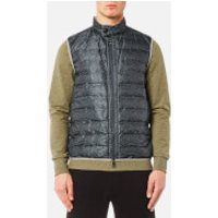 Michael Kors Mens Heat Seal Vest - Midnight - S - Blue