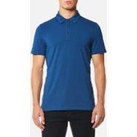 Michael Kors Mens Bryant Performance Polo Shirt - Marine Blue - M - Blue