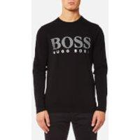 BOSS Green Mens Togn US Large Logo Long Sleeve T-Shirt - Black - XL - Black