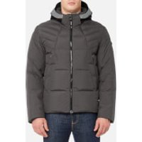 BOSS Green Men's Jamba Padded Jacket - Medium Grey - S - Grey