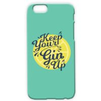 Keep Your Gin Up Phone Case for iPhone & Android - Samsung Galaxy S6 Edge