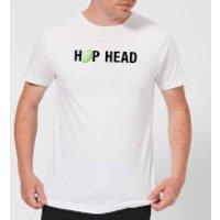 Beershield Hop Head Men's T-Shirt - XL - White