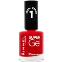 Rimmel Super Gel Nail Varnish 12ml (Various Shades) - 45 Flamenco Beach