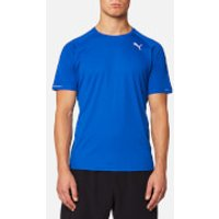 Puma Mens Core-Run Short Sleeve T-Shirt - Lapis Blue - L - Blue