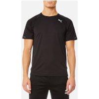 Puma Mens Core-Run Short Sleeve T-Shirt - Puma Black - M - Black
