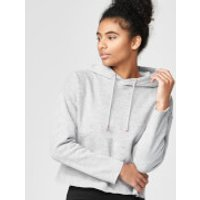 Luxe Classic Hoodie - XS - Grey Marl